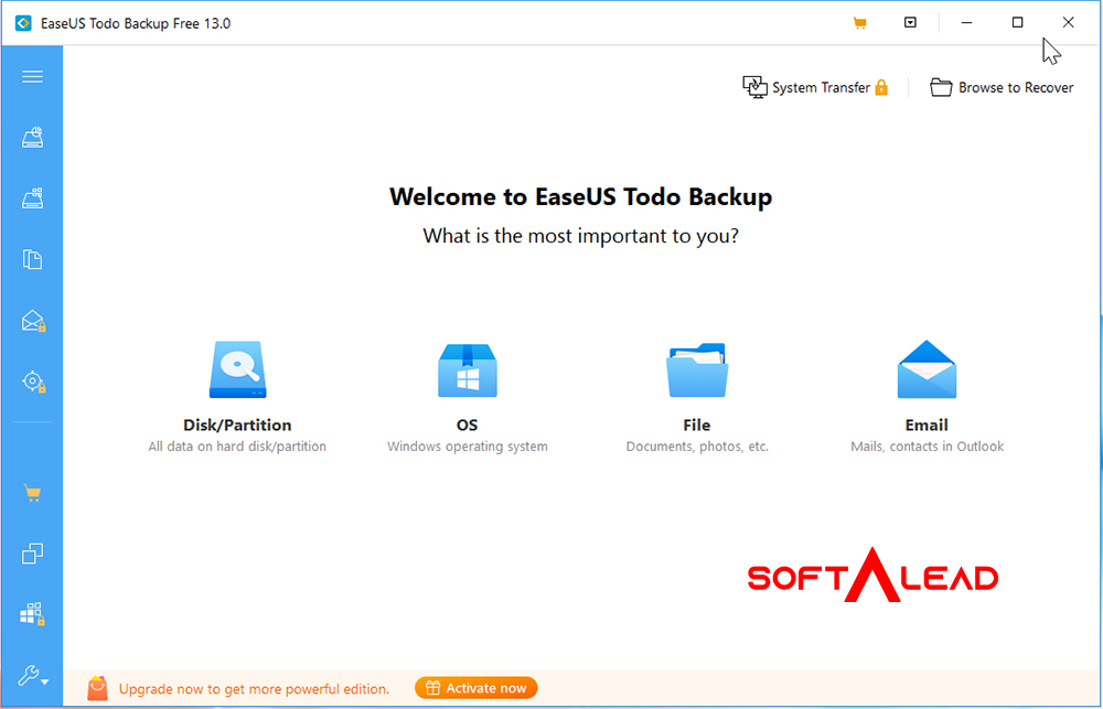 Download EASEUS Todo Backup for Windows