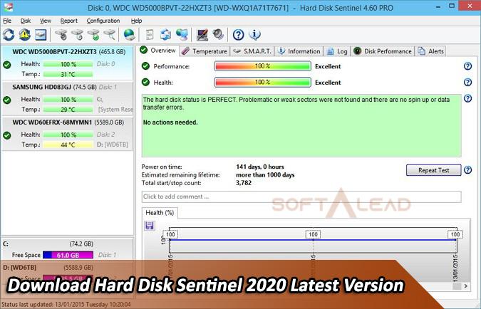 Download Hard Disk Sentinel 2020 Latest Version