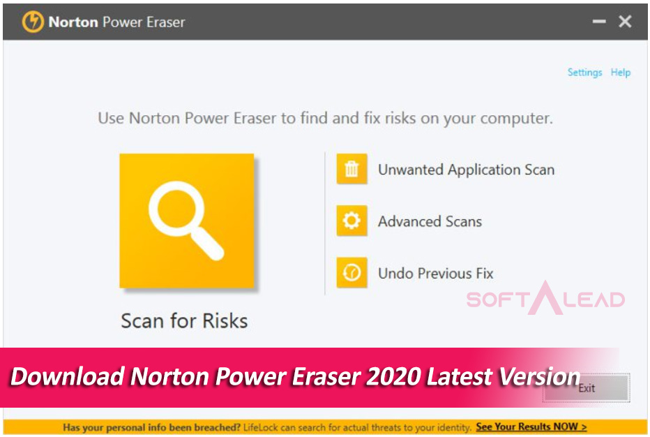 Download Norton Power Eraser 2020 Latest Version