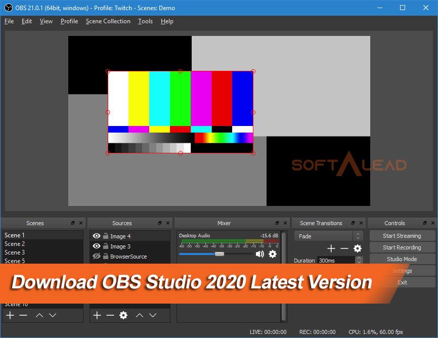 Download OBS Studio 2020 Latest Version