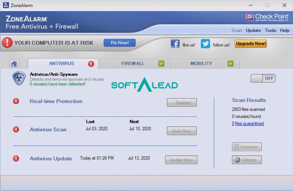 Download ZoneAlarm Antivirus 2021 for Windows