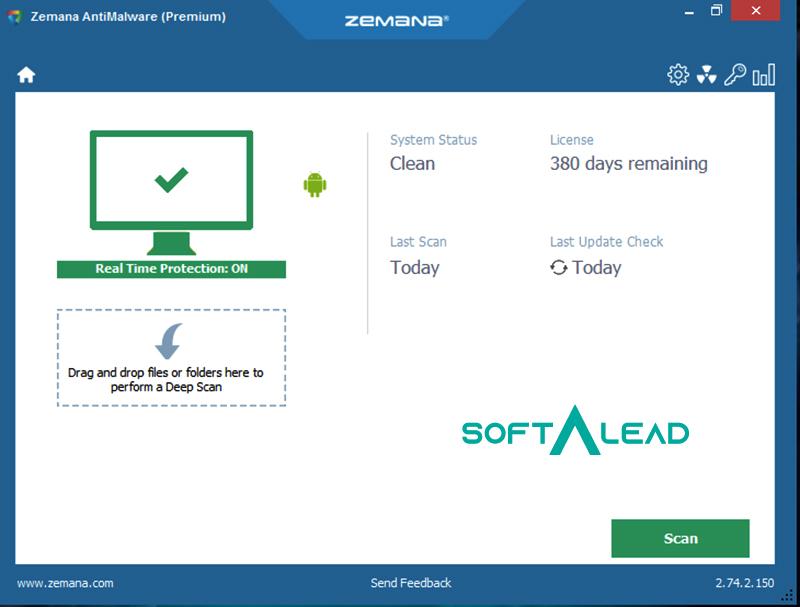 Download Zemana Anti Malware for Windows