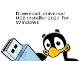 Universal USB Installer 2020